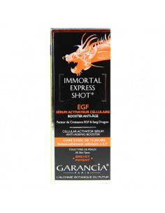 Garancia Immortal Express Shot EGF Sérum Activateur Cellulaire. 15ml