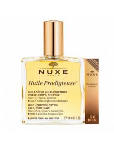 Nuxe Huile Prodigieuse 100ml + Prodigieux Absolu de Parfum 1,2ml OFFERT