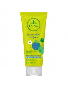Laino Shampooing Douche Gourmandise d'enfants Pomme Bio 200ml Laino - 1