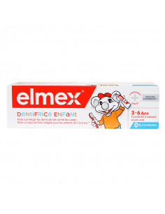 Elmex Dentifrice Enfant 3-6 ans Tube 50ml. elmex orange enfant