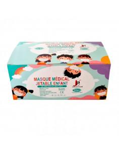 Masques Chirurgicaux Enfants Type II Boîte de 50