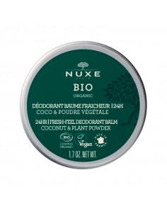 Nuxe Bio Déodorant Baume Fraîcheur 24h 50g