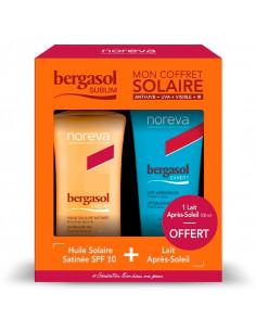 Bergasol Sublim Coffret Huile Solaire SPF10 125ml + Lait Après-soleil 100ml OFFERT