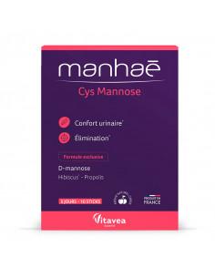 Manhaé Cys Mannose Confort Urinaire 10 sticks