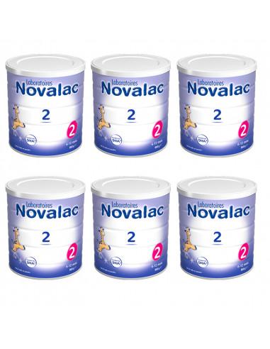 Novalac 2ème âge Offre Spéciale Lot 6x800g