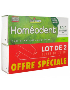 Homéodent Soin Complet Dents et Gencives Anis Lot 2x75ml