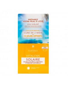 René Furterer Vitalfan Solaire 2x30 capsules Cure de 2 mois dont 15 jours offerts