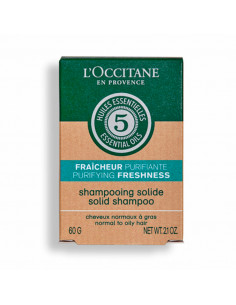 L'Occitane Shampooing Solide Fraîcheur Purifiante 60g