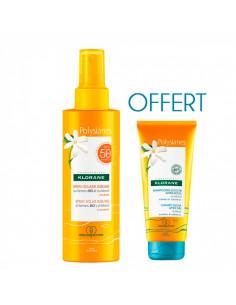 Klorane Spray Solaire Sublime SPF50 200ml + Shampooing Douche Après-soleil 75ml OFFERT