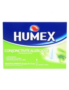 Humex conjonctivite allergique collyre en solution 10 unidoses