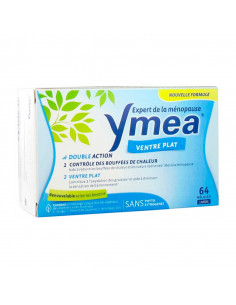 Ymea Ménopause Ventre Plat boîte bleue 64 gélules