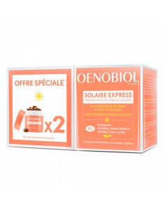 Oenobiol Solaire Express Préparation solaire accélérée Lot 2x15 capsules