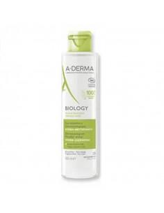 Aderma Biology eau micellaire bio flacon blanc vert 400ml