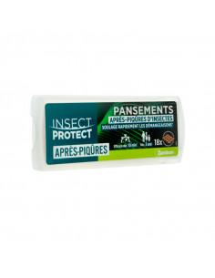 Insect Protect Pansements Après-Piqûres d'Insectes 18 pansements