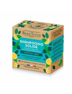 Beauterra Shampooing Solide Cheveux Gras pain 75g
