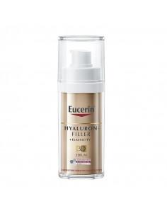 Eucerin Hyaluron-Filler Elasticity 3D Serum flacon pompe airless doré or