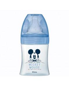 Dodie Disney Baby Biberon Anti-colique 0-6 mois Bleu Mickey 150ml tétine débit 1 lent