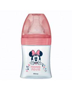Dodie Disney Baby Biberon Anti-colique 0-6 mois Rose Minnie 150ml tétine débit lent 1