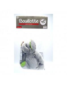 Cooper Bouillotte Confort et Bien-être- Perle de silice-Eléphant, peluche, grise