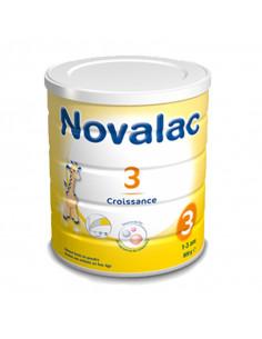 Novalac 3 Croissance pot jaune avec girafe