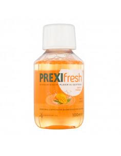 PrexiFresh Bain de Bouche Quotidien Saveur Mangue. 100ml flacon orange