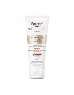 Eucerin Hyaluron-Filler +Elasticity Crème Mains SPF30 tube 75ml anti taches anti-âge