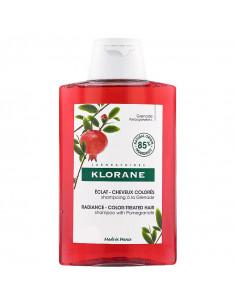 Klorane Eclat Cheveux Colorés Shampooing Grenade 400ml grand flacon rouge