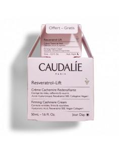 Caudalie Resveratrol-Lift Crème Cachemire 50ml + Crème Tisane de Nuit 15ml offerte en cadeau