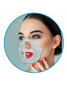 Health + Coque Support Masque à placer sur le visage sous le masque