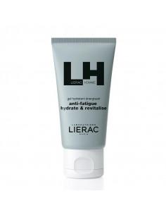 Lierac Homme Gel Hydratant Energisant. 50ml tube bleu gris