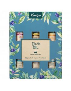 Kneipp Bath Oil Collection Coffret noel 2021 6 huiles de bain