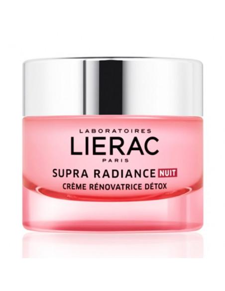 Lierac Supra Radiance Nuit Crème Rénovatrice Détox. 50ml