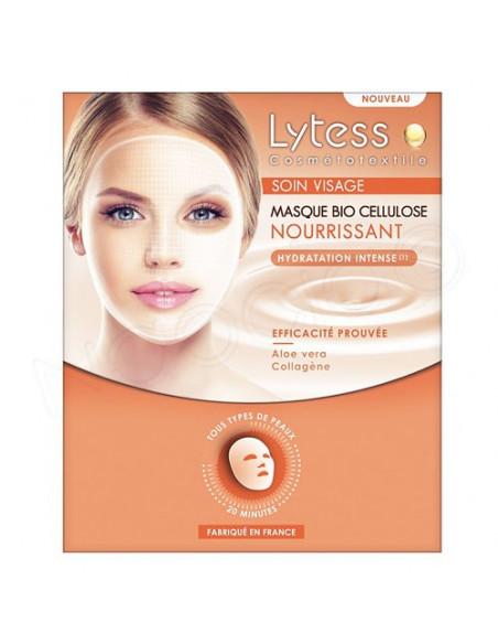 Lytess Masque Bio Cellulose Nourrissant Hydratation Intense x1