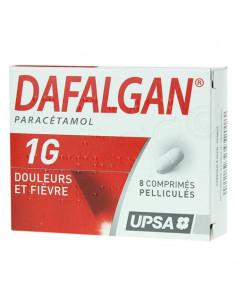 Dafalgan 1G 8 comprimés pelliculés