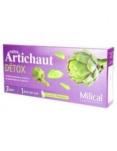Milical Extra Artichaut Detox saveur pomme 7 jours 7 doses de 10ml
