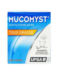 Mucomyst 200 mg Poudre en sachet B/18