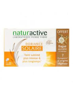 Naturactive Doriance Solaire. 2x30 capsules + 1 bague offerte