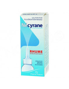 Nécyrane Rhume Rhinopharyngite. Spray 100ml