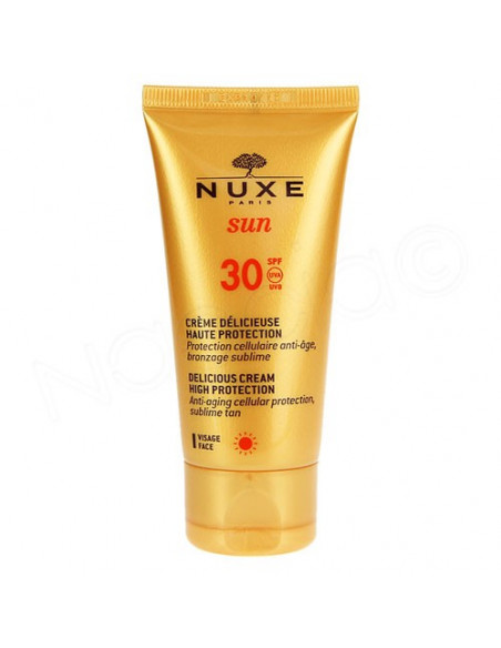 Nuxe Sun SPF30 Crème Délicieuse Visage. 50ml