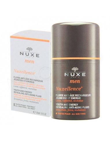 Nuxe Men Nuxellence Fluide Anti-âge Rechargeur Jeunesse Energie. 50ml