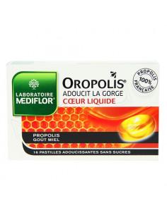 Oropolis Coeur Liquide Pastilles Adoucissantes pour la gorge. Boite 16 pastilles