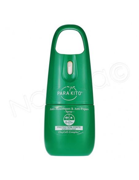 Para'Kito Anti-Moustiques & Anti-Tiques Protection Forte. Spray 75ml