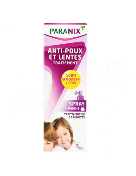 Paranix anti-poux et lentes spray 100ml