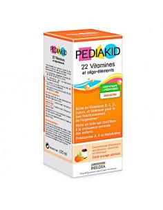 Pediakid Sirop 22 Vitamines et Oligo-Éléments - bon fonctionnement de l'organisme