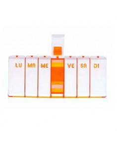 PILBOX TEMPO Pilulier hebdomadaire Orange Cooper - 1