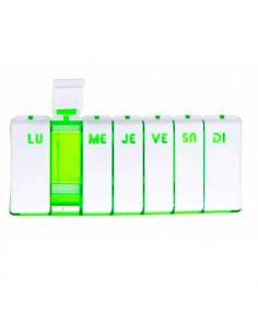 PILBOX TEMPO Pilulier hebdomadaire Vert Cooper - 1