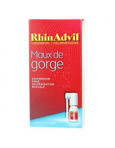 RhinAdvil Maux de Gorge. Suspension pour pulvérisation buccale 12ml