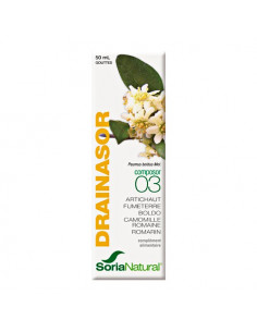 SoriaNatural Composor 03 Drainasor. 50ml - draineur / fonctions digestives