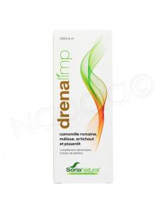SoriaNatural Drenalimp Complément alimentaire à base de plantes. 250ml