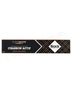 Superwhite Black Edition Dentifrice Blancheur au Charbon Actif. 75ml